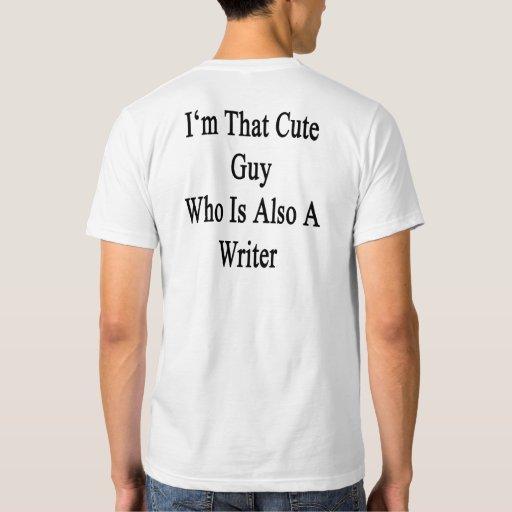Soy ese individuo lindo que es también escritor playera