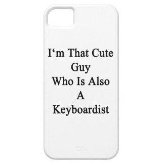 Soy ese individuo lindo que es también teclista iPhone 5 protector