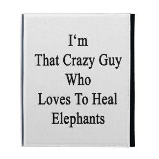 Soy ese individuo loco que ama curar elefantes