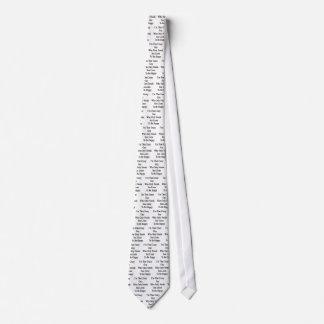 Soy ese individuo loco que necesita solamente corbata