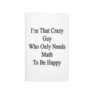 Soy ese individuo loco que necesita solamente cuadernos grapados