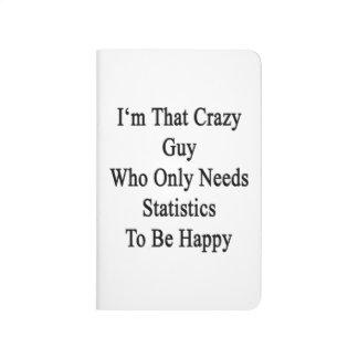 Soy ese individuo loco que necesita solamente cuaderno grapado