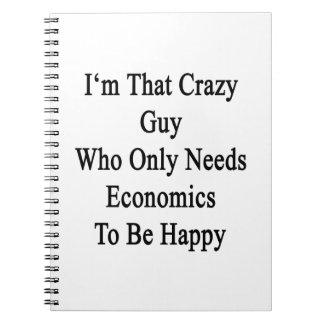Soy ese individuo loco que necesita solamente la libreta espiral