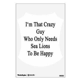 Soy ese individuo loco que necesita solamente vinilo adhesivo