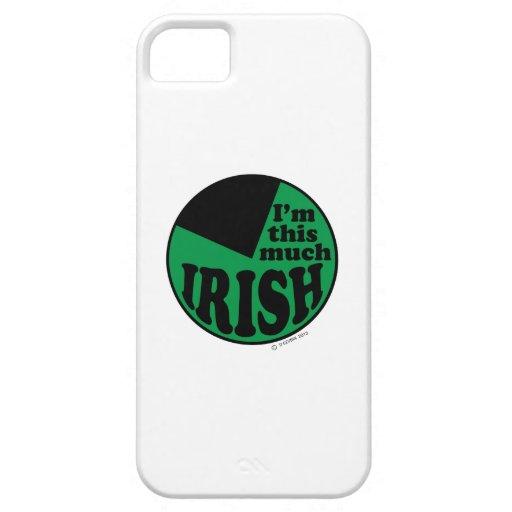 Soy este mucho irlandés - el 75% iPhone 5 fundas