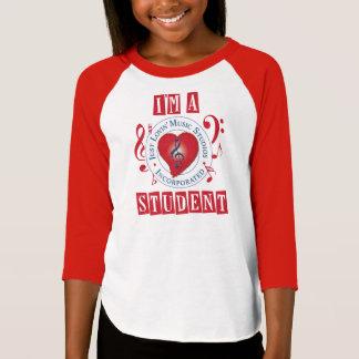 Soy Estudiante-Chicas De un JLMS 3/4 camiseta del