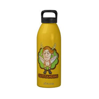 Soy excepcional botella de agua reutilizable
