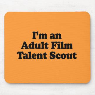 Soy explorador de talento adulto de la película alfombrillas de ratón