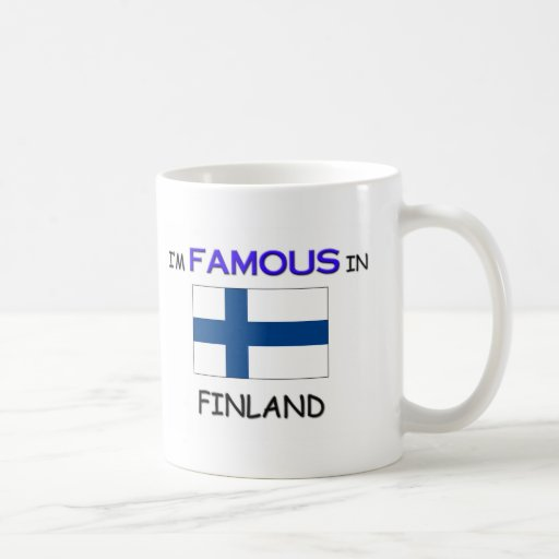 Soy famoso en FINLANDIA Taza