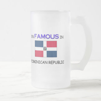 Soy famoso en la REPÚBLICA DOMINICANA Tazas De Café