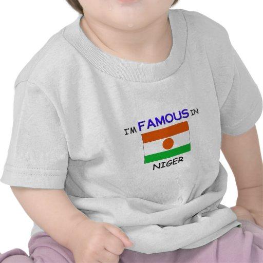 Soy famoso en NIGER Camisetas