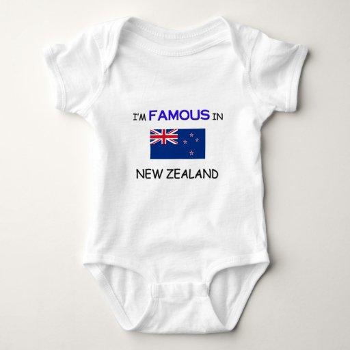 Soy famoso en NUEVA ZELANDA Playera
