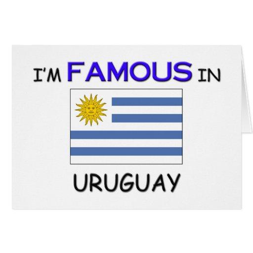 Soy famoso en URUGUAY Tarjeton