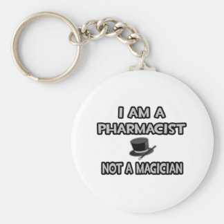 Soy farmacéutico… no un mago llavero personalizado