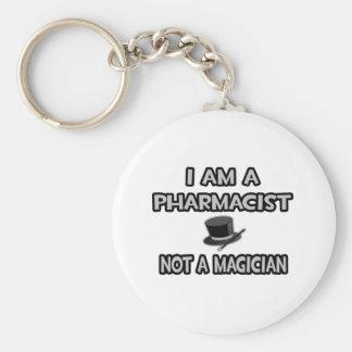 Soy farmacéutico… no un mago llavero redondo tipo pin