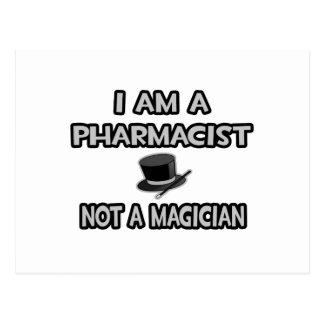 Soy farmacéutico… no un mago tarjetas postales