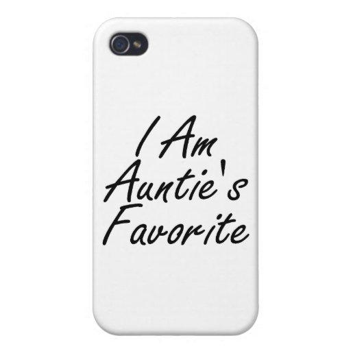 Soy Favorite de tía iPhone 4 Carcasas