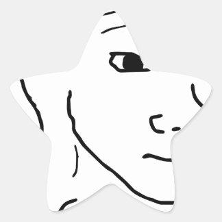 Soy Feelin él Pegatina En Forma De Estrella
