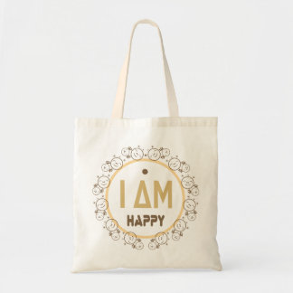 soy feliz bolsa tela barata