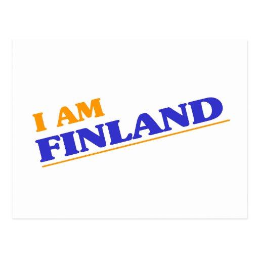 Soy Finlandia Tarjeta Postal