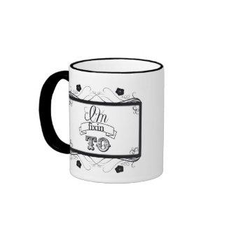 Soy fixin a la taza del café/de té