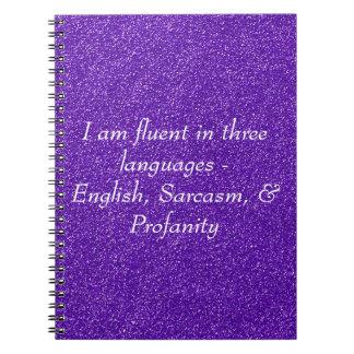 Soy fluido en tres idiomas cuadernos