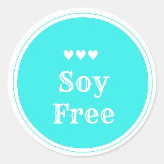 Soy Free sticker
