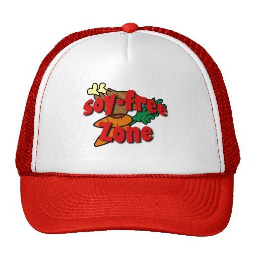 Soy-Free Zone Trucker Hats