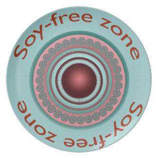 Soy-Free Zone Plate