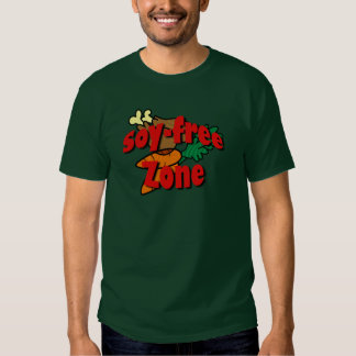 Soy-Free Zone Tee Shirt