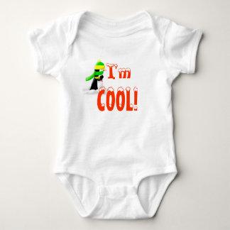 ¡Soy fresco! Zee, el mono del pingüino para el Body Para Bebé