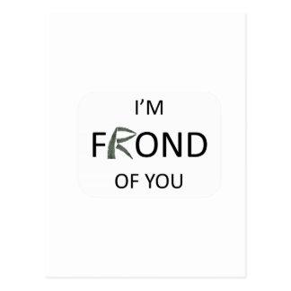 Soy fronda de usted postales