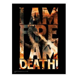 ¡Soy fuego que soy muerte! Tarjetas Postales