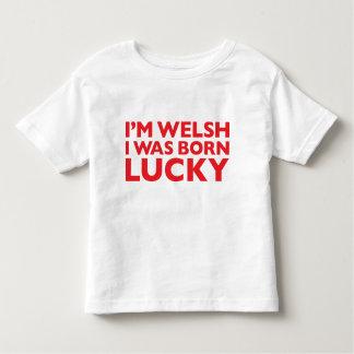 Soy Galés que era camiseta afortunada nacida de Polera