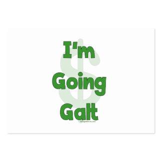 Soy Galt que va Tarjetas De Visita Grandes