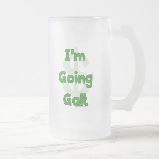 Soy Galt que va Taza Cristal Mate