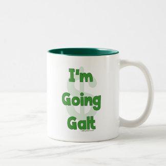 Soy Galt que va Taza De Dos Tonos