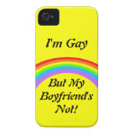 ¡Soy gay! Caso iPhone 4 Case-Mate Cobertura