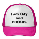 Soy GAY y ORGULLOSO Gorras
