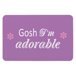 Soy GIAb adorable Rectangle Magnet