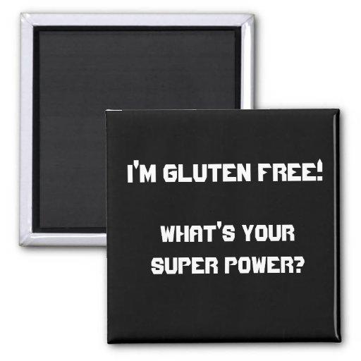 ¡Soy gluten libre! ¿, Cuál es su superpoder? Imán