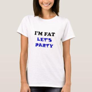 Soy gordo nos dejé ir de fiesta playera