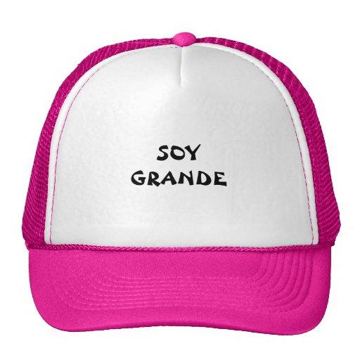 SOY GRANDE HAT