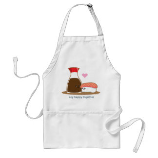 Soy Happy Together Aprons