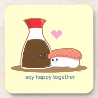 Soy Happy Together Beverage Coaster