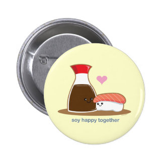 Soy Happy Together Button