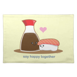Soy Happy Together Cloth Placemat