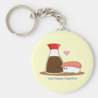 Soy Happy Together Keychain