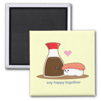 Soy Happy Together Magnet