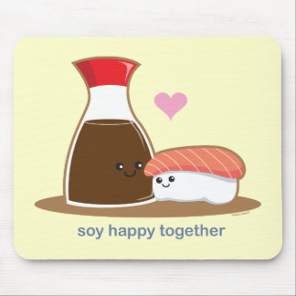 Soy Happy Together Mouse Pad